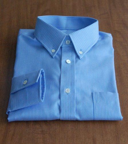 蓝色礼服衬衫01