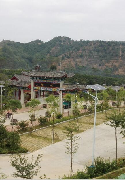 广西六梧镇太阳能路灯