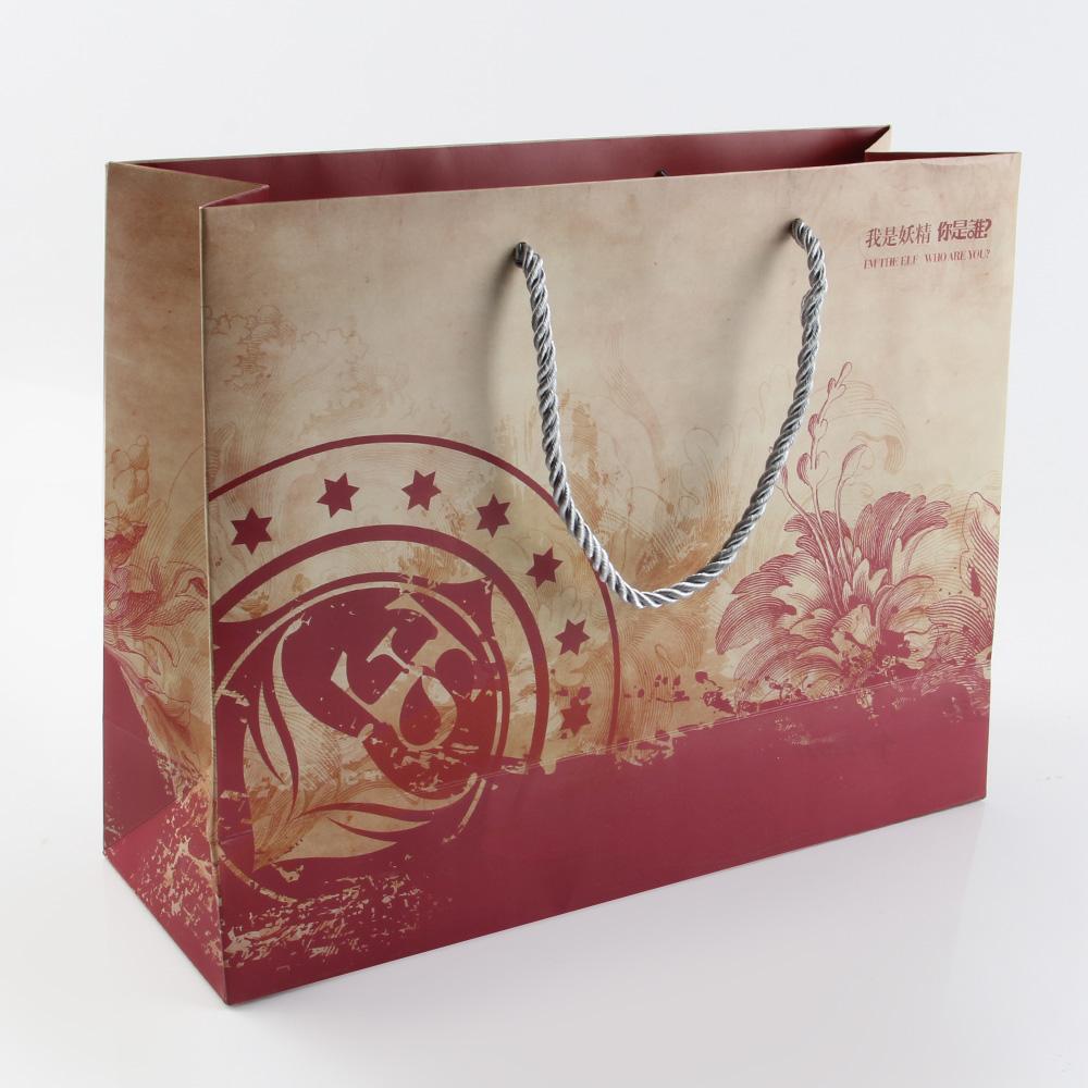 一个茶叶纸袋,看看生产厂家如何透过颜色展示优势