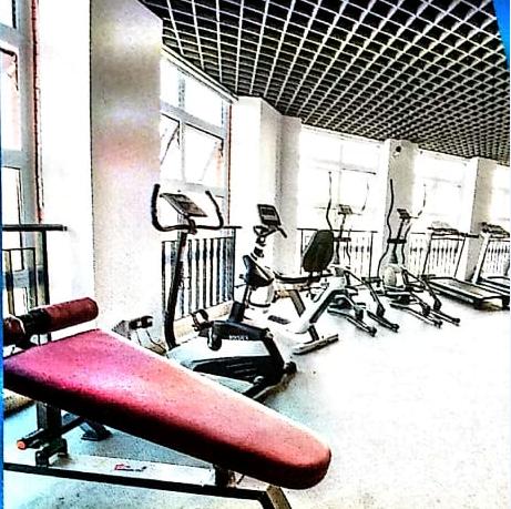 四川城市技师学院娱乐健身房