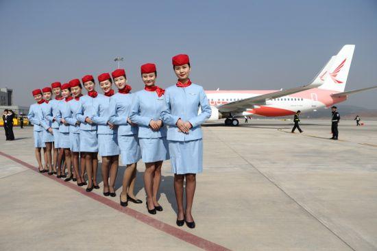 航空乘务专业学生风采