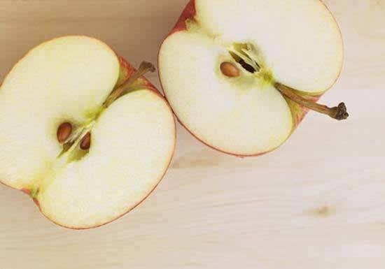 苹果核去油污