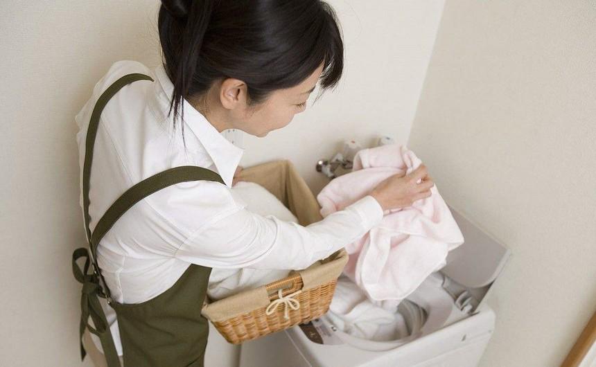 附图:洗衣服
