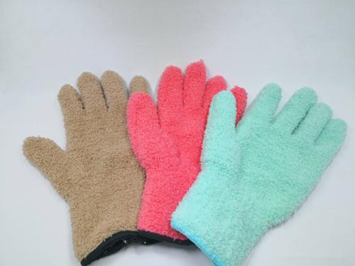 附图:手套形抹布