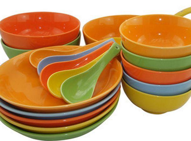 附图:塑料餐具
