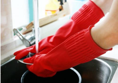 附图:橡胶手套