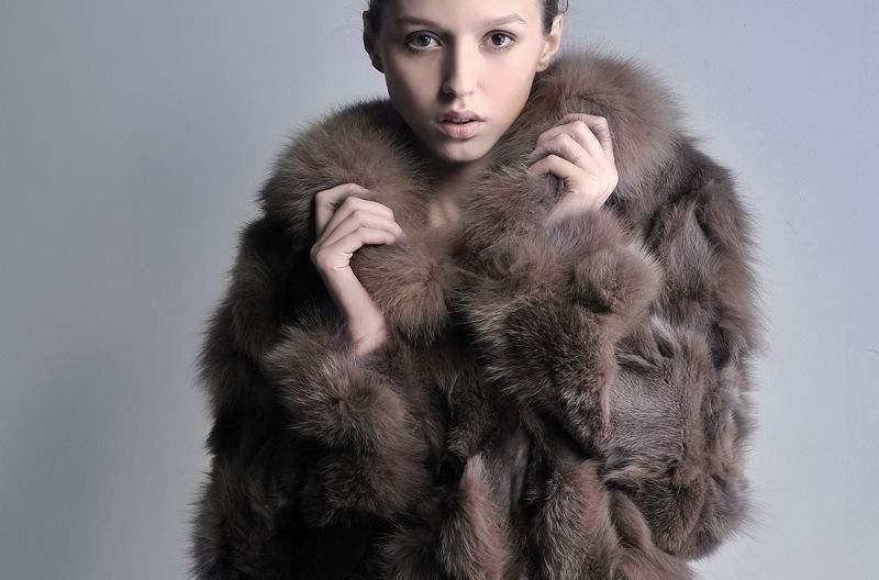 附图:毛皮大衣