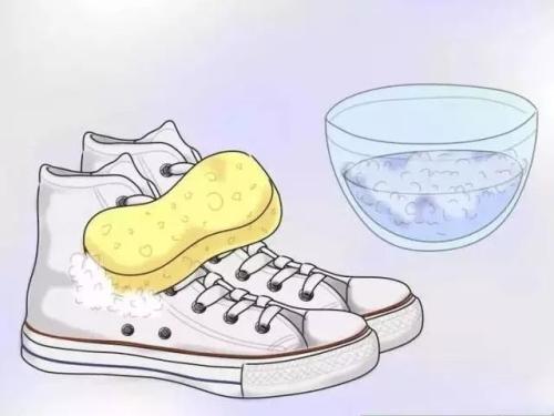 附图:洗鞋子