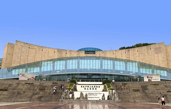 重庆三峡博物馆-干粉砂浆