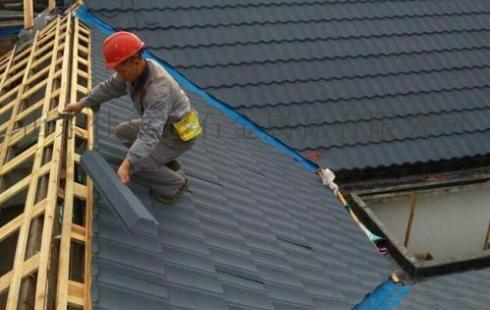 彩石金属瓦施工用电安全