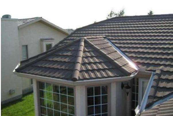 屋面翻新彩石金属瓦