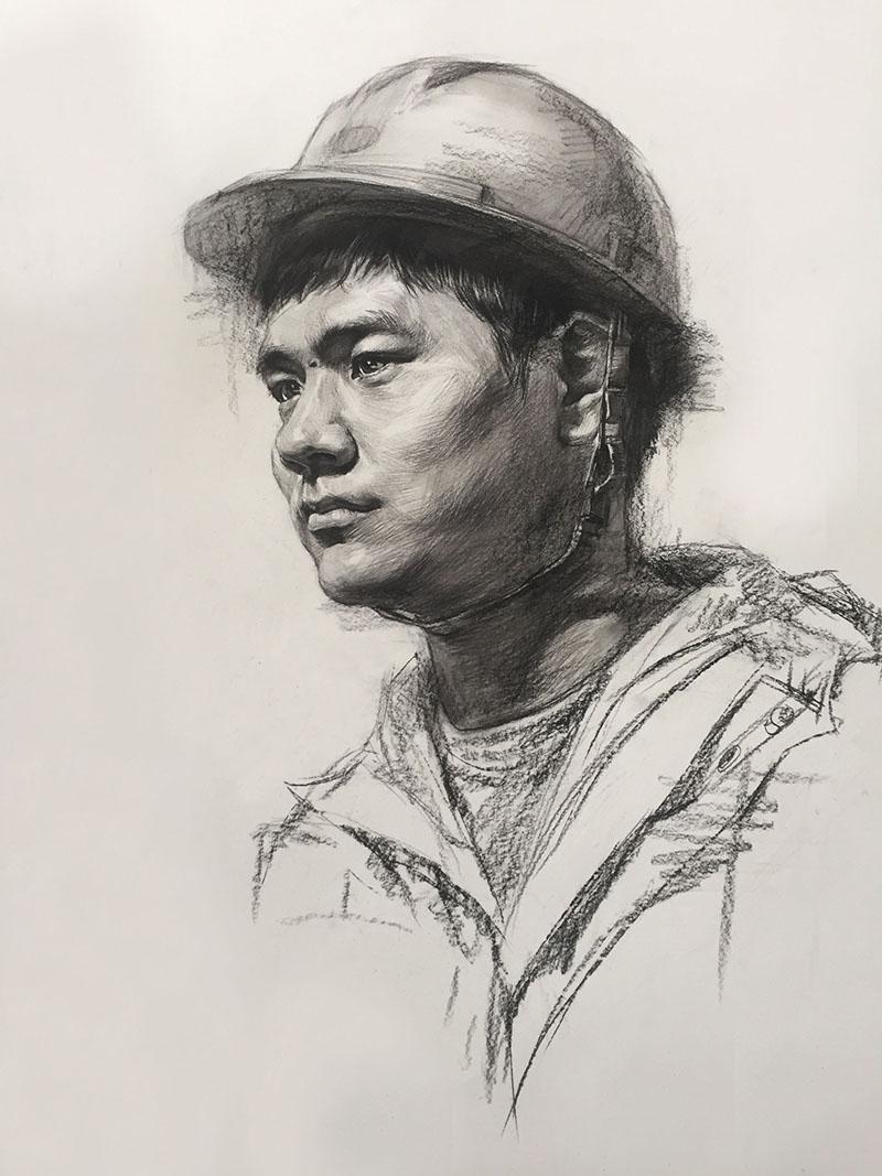 兰州美术素描男青年培训