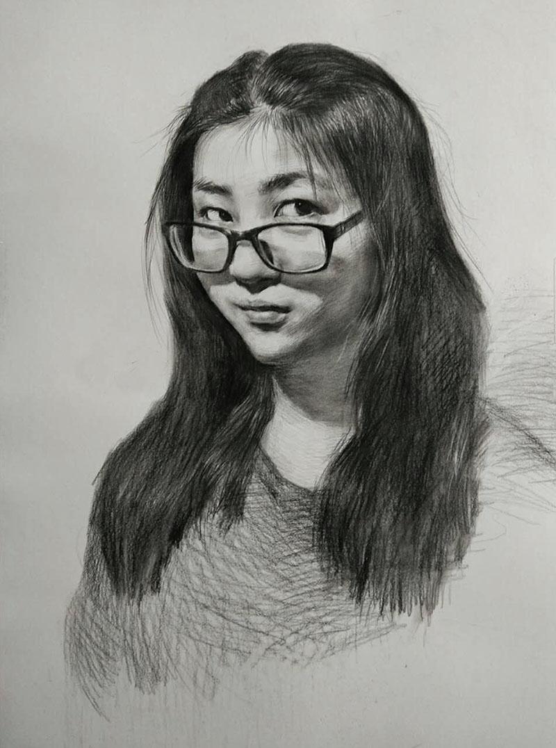 兰州女青年素描美术培训
