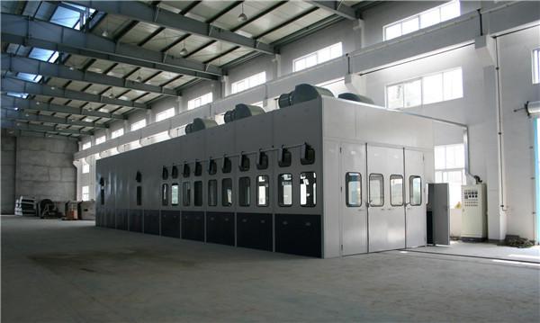 大型喷漆设备产品介绍-亿科喷漆房