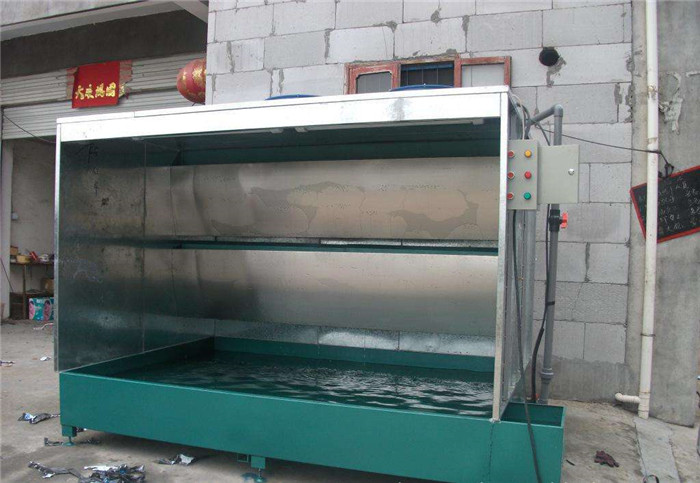 水帘式喷漆房气水分离装置的构造-亿科喷漆房