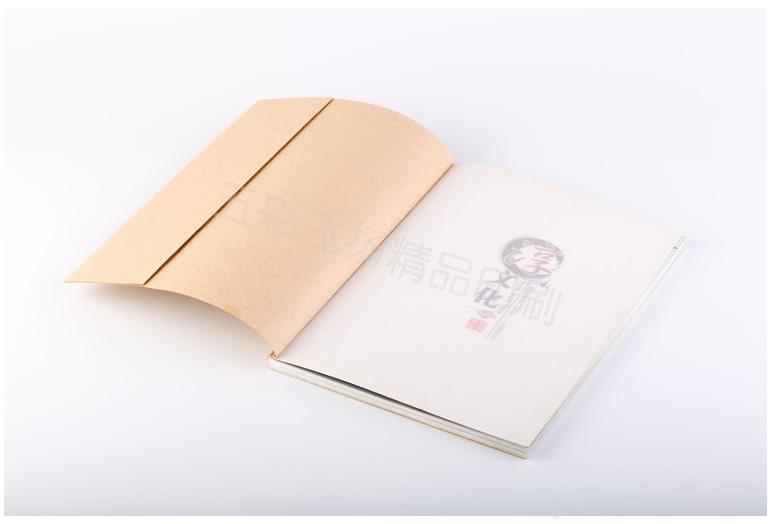 鎖線膠裝畫冊印刷6