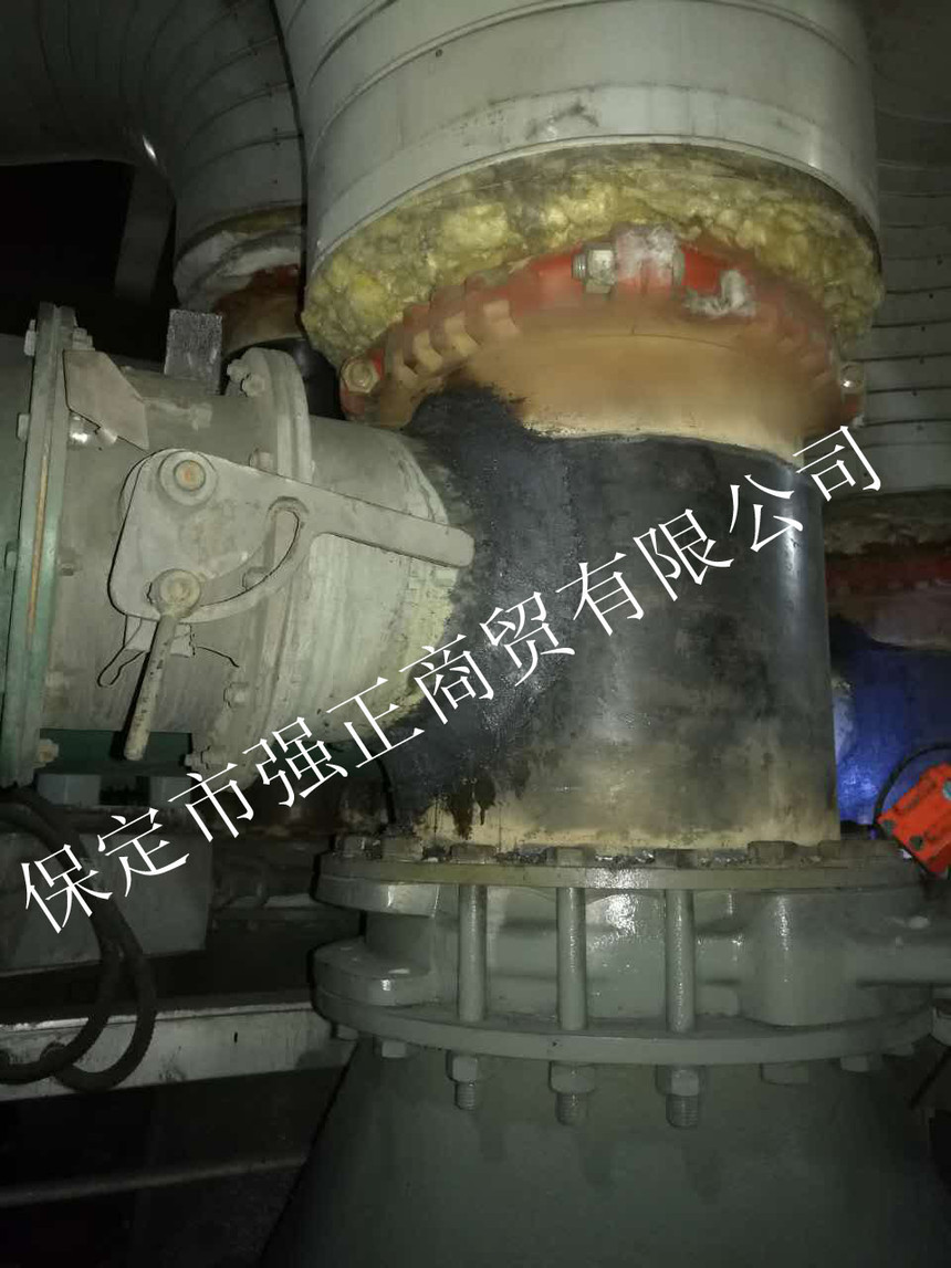 沙河电厂防磨技术施工现场