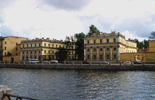 远眺圣彼得堡国立经济大学