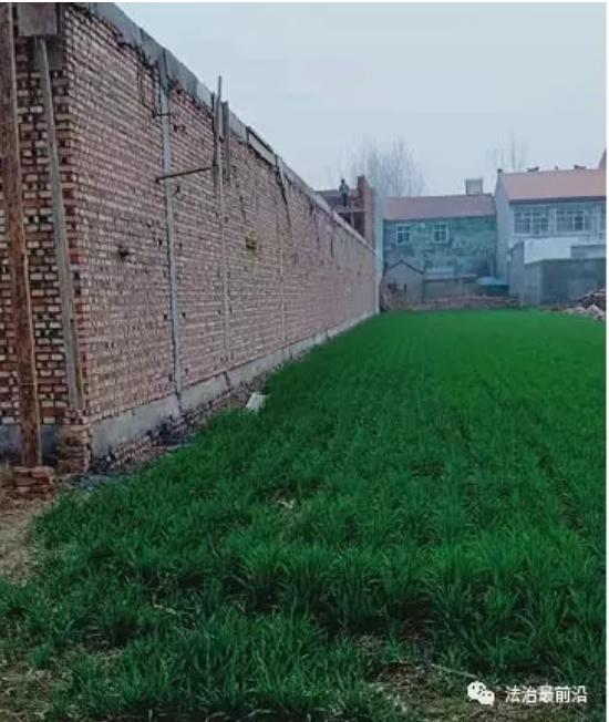 河南虞城沙集乡耕地违建商品房 反映后仍然大肆施工