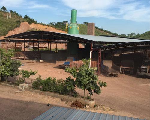 南川南坪花园砖厂9万风量脱硫塔