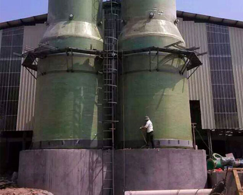 永川双河口砖厂脱硫塔