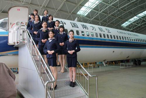 高中没毕业可以学航空服务吗?