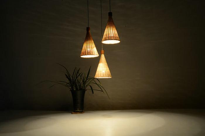竹工艺品,竹灯具