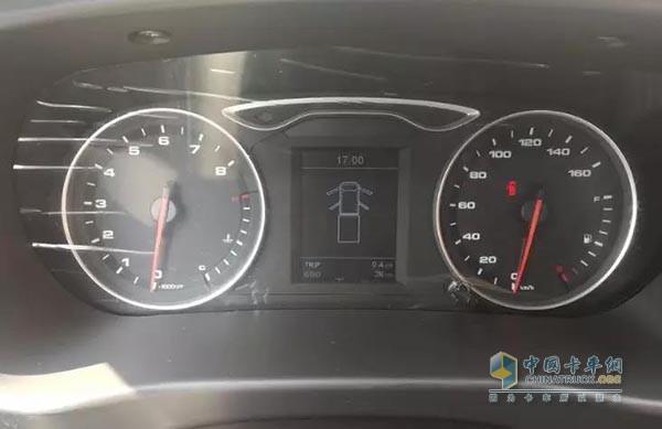 康铃X5 1.5L汽油版组合仪表