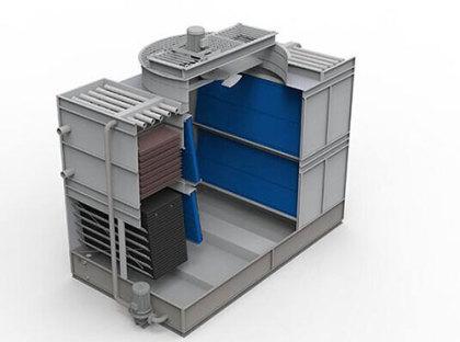 华舜冷却塔结构
