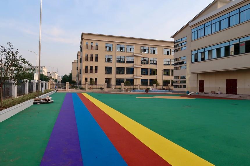 嵊州學校塑膠跑道
