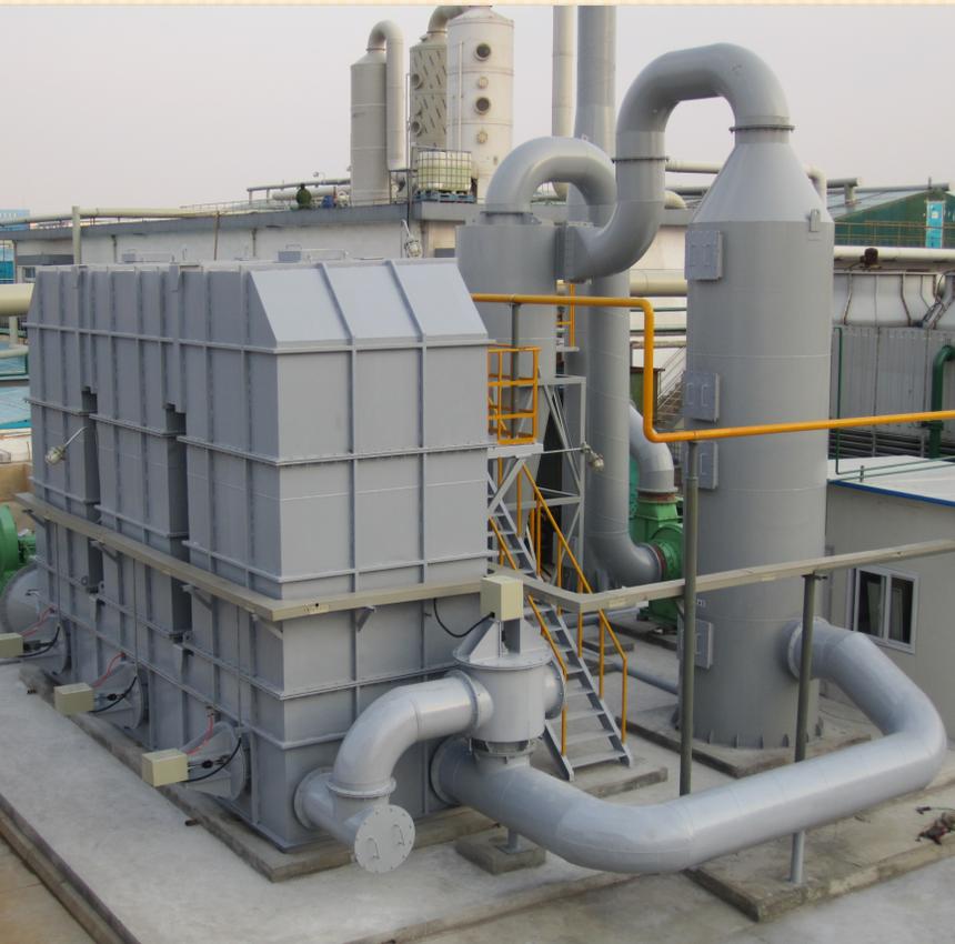 蓄热式热氧化处理技术案例1