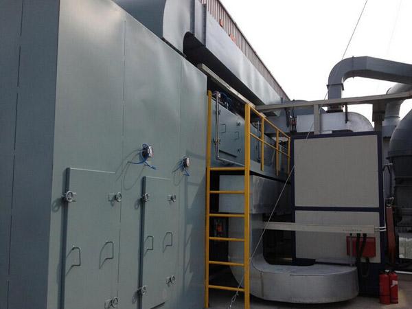蓄热式热氧化处理技术案例2
