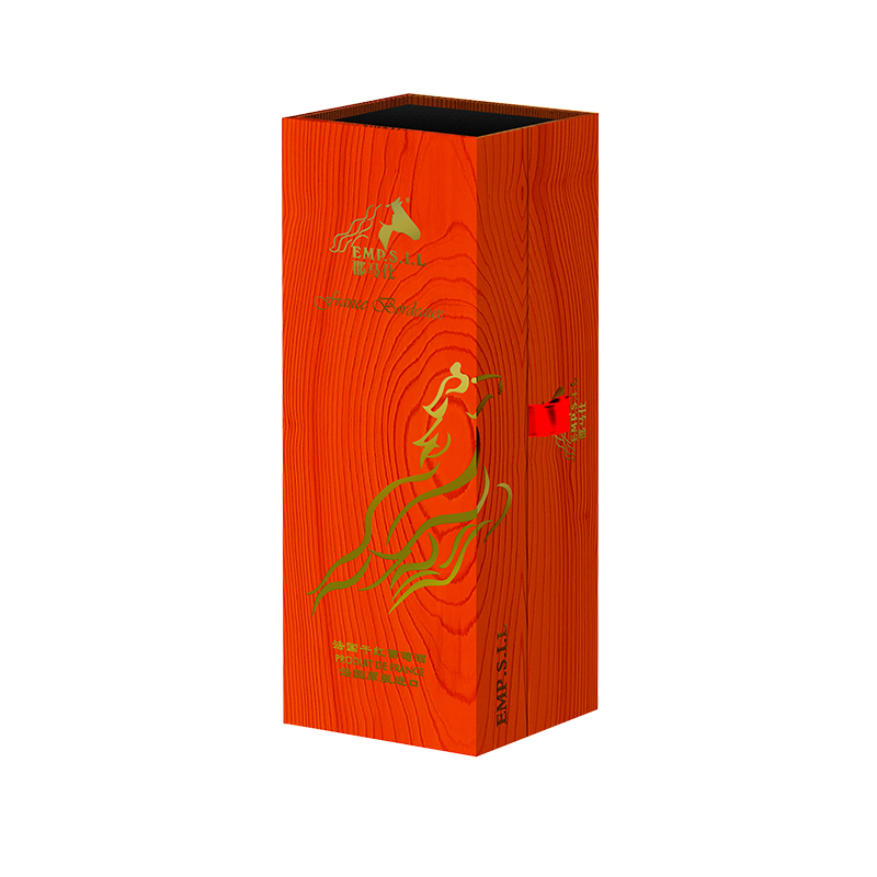 郡马仕红酒包装盒·红