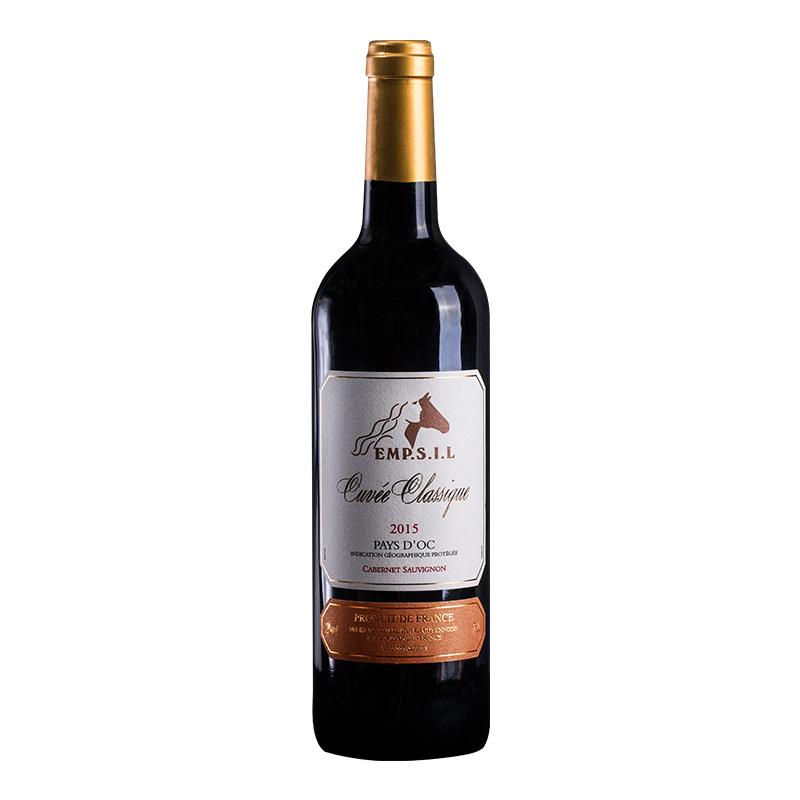 郡馬仕經典紅葡萄酒