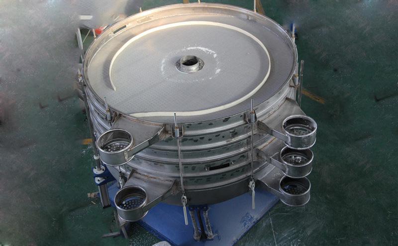 石英砂振动筛分机筛分流程原理