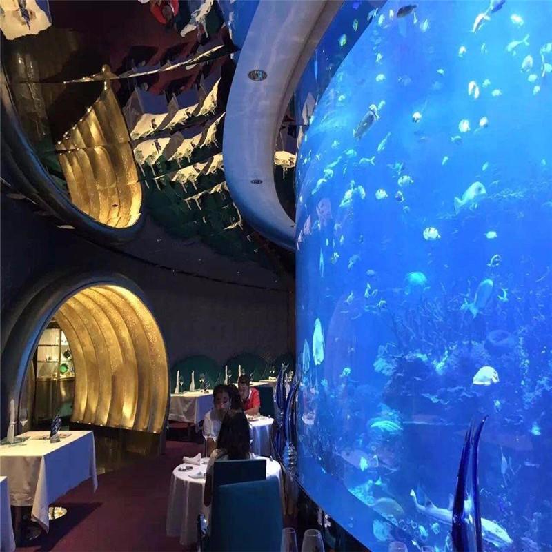 异形海底餐厅,360°海底餐厅