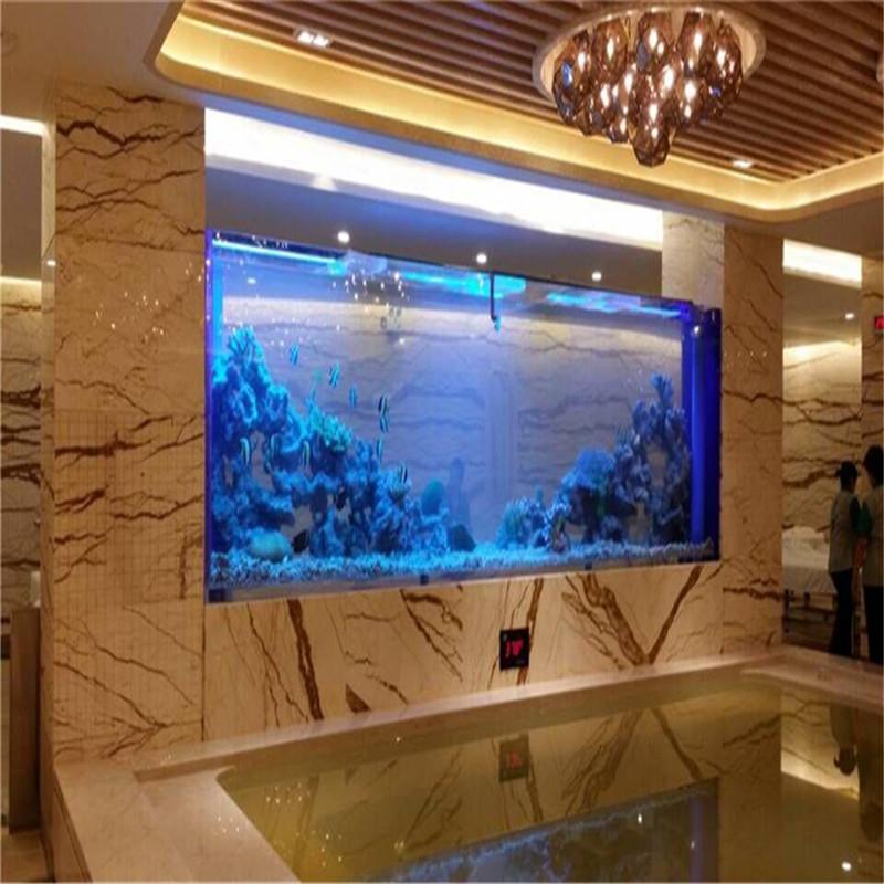 镶嵌式鱼缸,桑拿玻璃鱼缸