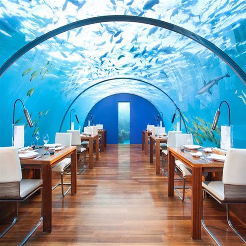 海底餐厅建造,上海耘乾水族工程