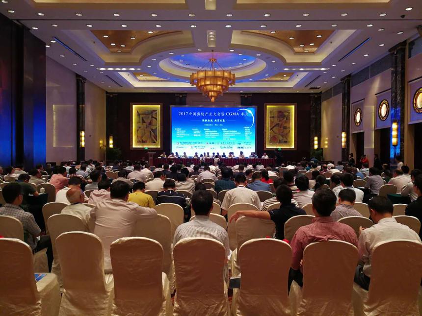 泰隆齿轮应邀参加2017年CGMA年会