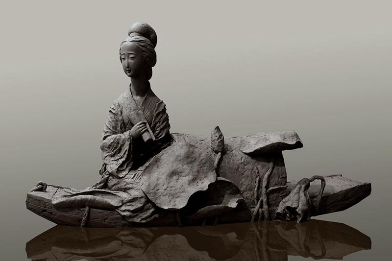 《名仕.李清照》玻璃钢古代人物雕塑.jpg