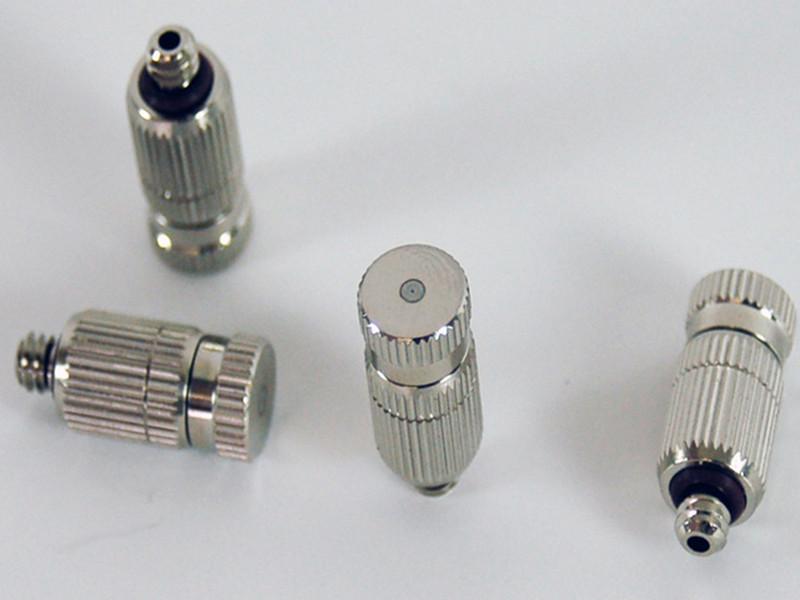 高压喷雾喷嘴降温的应用原理和作用特点