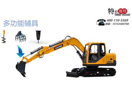宝鼎履带80挖掘机可搭载多种辅具工作.jpg