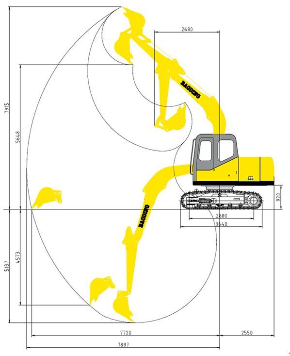 150履带挖掘机工作参数图.png