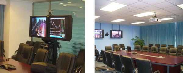 宝利通高清视频服务于国金证券公司
