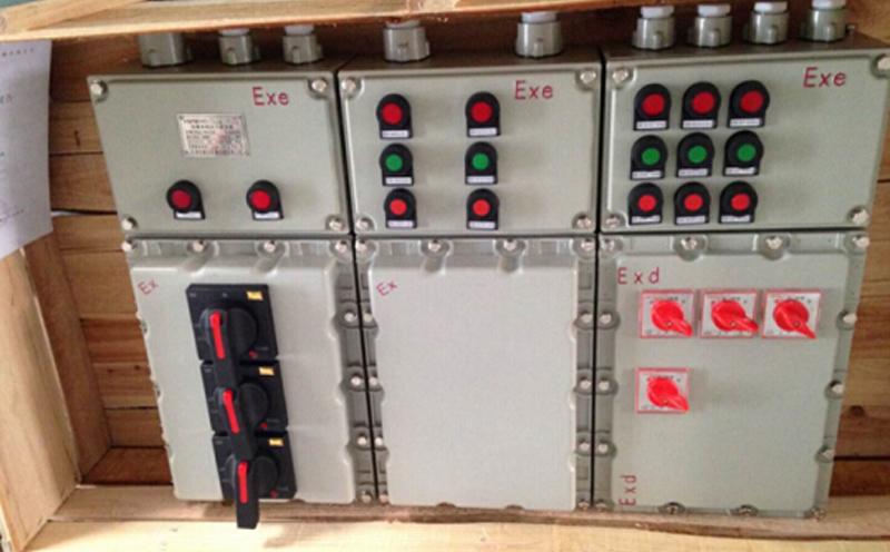 防爆配电箱结构概述