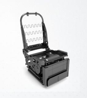 电动座椅骨架