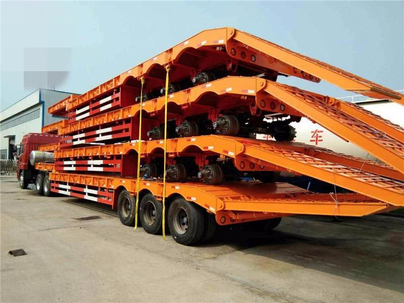 13米低平板半挂车的车架组成与特点