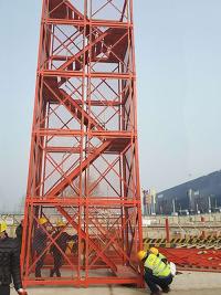 施工梯笼的特点和适用范围