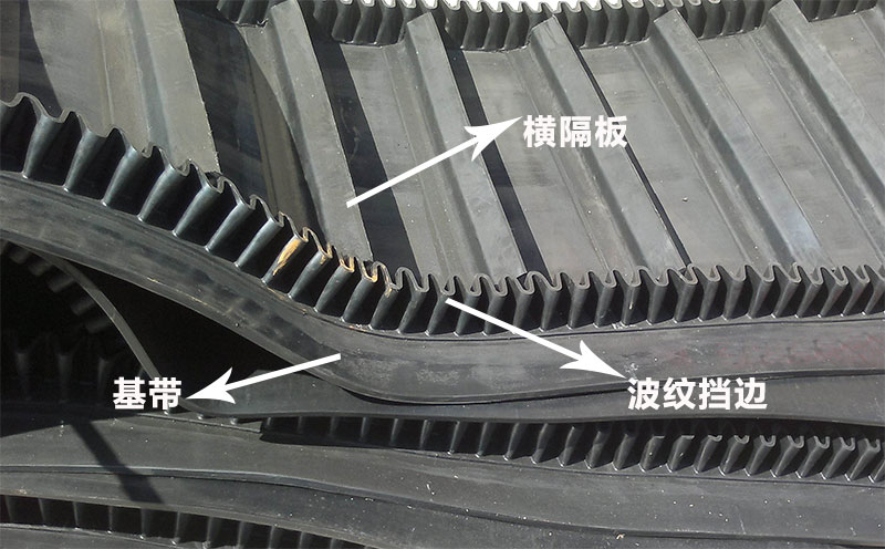 大倾角皮带输送带