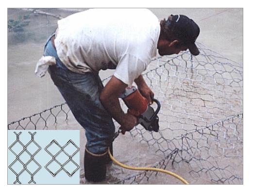 石笼网安装